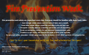 FIRE PREVENTION QUIZ